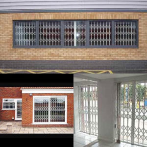 Domestic Office Retractable Trellis Grills