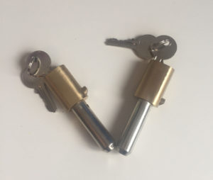 Manual Shutter Pin/Bullet Locks